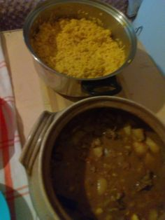 Pleb Meals Pleb Beef Curry with Spicy Rice Ingredients Ingredients For Curry of stewing Beef. Spicy Rice, Rice Ingredients, Beef Curry, Chana Masala, Stew, Potatoes, Meals, Ethnic Recipes
