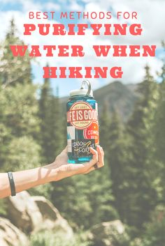 The best way to filter or purify drinking water when hiking, backpacking or camping. #BePrepares #survival