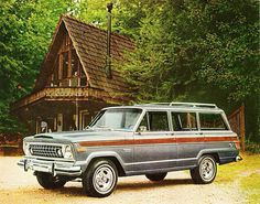 The Jeep Wagoneer was THE first SUV to combine refinement with trail-rated ruggedness. www.zimmermotors.com