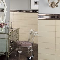Classy, and chic style! Modern Dimensions tile, by Daltile.