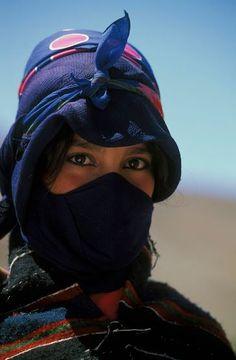 Amazigh woman, Morocco.