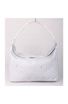 Goyard Fidji Hobo Bag White