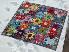 A View From Above by Grey Cat Quilts, via Flickr