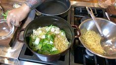 Make chef Jet Tila's chicken lo mein Chef Jet Tila, Stir Fry At Home, Lemon Spaghetti, Chicken Lo Mein, Grilled Scallops, Longest Recipe, Cook Smarts, Scallop Recipes, Food Print