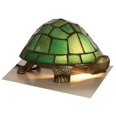 Tiffany Tortoise Lamp. love