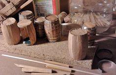 Dremel, Canning, Dolls, Handmade, Nativity, House Ideas, Fairy, Miniature Gardens, Garden
