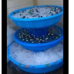 Awesomeness for summer parties This is either Frat ingenuity or white trash chic