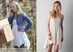The Vampire Diaries: Season 6 Episode 14 Caroline's Crocheted Babydoll Dress