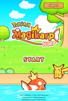 Who's playing Magikarp Jump this weekend?