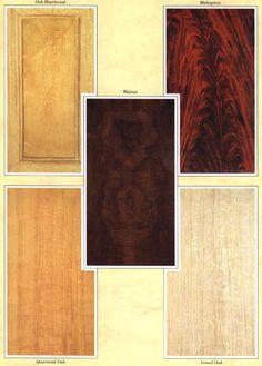 Fine Wood Veneer Paneling Unfinished Walnut Mahogany