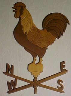 Rooster Weathervain