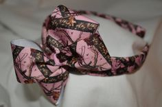 Pink Real Tree Headband by PreciousBlooms on Etsy, $7.00