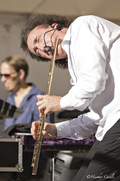 #ChickPicotheDay! (Day 1,756) The talented and flexible Alexander Zonjic and his #flute put on an amazing show this past Sunday at the Brantford International Jazz Festival. #flute #musician #brass #jazz #festival #GetYourGrooveOn