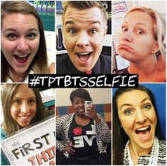 We asked you to show us how you feel about back to school by taking back-to-school selfies (using hashtag #TpTBTSSelfie). Check out some of our favorites!
