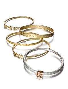 Malcolm Betts bangles: The Luxe List at Barneys New York