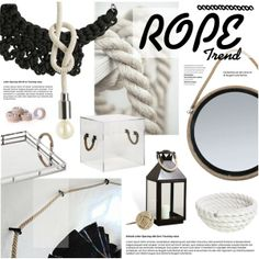 """""""Rope Trend"""" by bellamarie on Polyvore"""