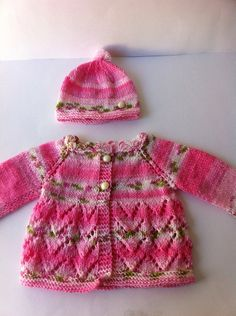 pink Baby cardigan / baby   girl pink sweater    by LoreNovedades, $46.00