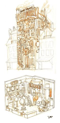 Dizzywood Art  by Jake Parker  http://mrjakeparker.com/