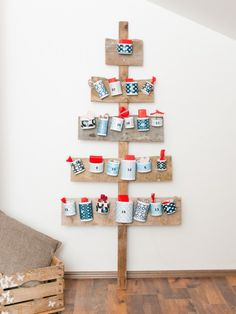 17 Calendarios de Adviento caseros, fáciles y bonitos para niños