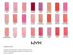 Venha escolher a cor do seu batom NYX!    Ótimo preço:    R$ 20,00