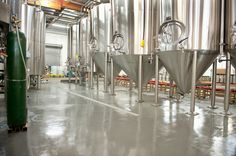Brewery Floor Coating  For #floor #sloping or #drainage, get A-Z expert #consultation by renowned #flooring #contractor, #EP #Floors #Corp. We are specialists in brewery floor coating.