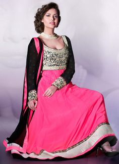 Pretty Georgette Anarkali Suit