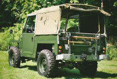 Land Rover Series IIA-The most rugged Land Rover you've ever seen