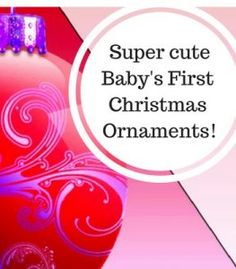 91a6bcc09 93 Best Baby s First Christmas Ornament images