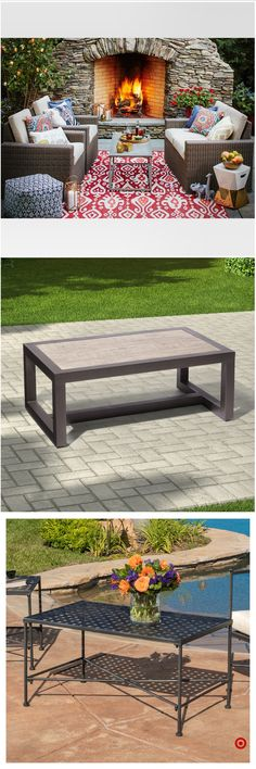 Shop Target for patio coffee table you will love at great low prices. Free shipping on orders of $35+ or free same-day pick-up in store.