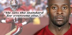 Jerry Rice - best WR of all time. He did not solely rely on his natural talent - he put in more work than anyone else.