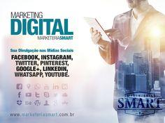 Seu negócio precisa estar onde todos estão, quem não é visto não é lembrado! #Invistanasuamarca #marketingdigitalsmart