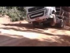 Carreta Volvo Poderosa - Olha O Que Ela Faz - Na Subida Com Toneladas Em...