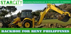 Starcity Industrial provides for in at competitive price. We provide latest machines that comes with multiple safety features, making them reliable and practical machines on the job site. Call us on 625 6337 for more details. Tractors, Philippines, Safety, Industrial, How To Make, Security Guard, Industrial Music