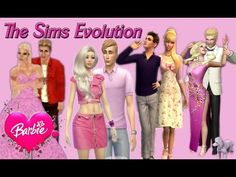 Sims 1 vs Sims 2 vs Sims 3 vs Sims 4 BARBIE AND KEN Life in the Dreamhouse - YouTube