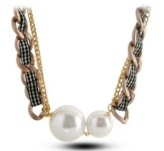Stylish Big Pearl Charming Sweater Chain for Women