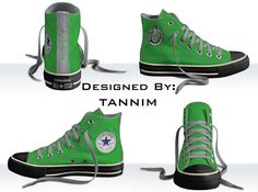 Custom Harry Potter: House Slytherin Converse Chucks on Etsy, Slytherin Pride, Slytherin House, Hogwarts Houses, Harry Potter Shoes, Harry Potter Theme, Colourful Outfits, Chuck Taylor Sneakers, Casual Shoes, Converse