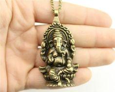 Big elephant necklace