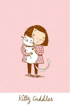 Kitty Cuddles by Alex Smith