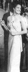 Miss Venezuela 1966 - Magally Beatriz Castro Egui - Miss Guárico