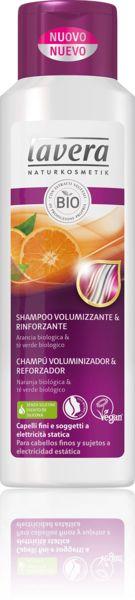 Shampoo volumizzante e rinforzante | lavera Naturkosmetik