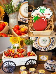 Bird's Party Blog: A Taste of Tuscany - An Italian Fall Dinner Party