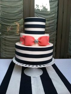 Love the stripes and bow