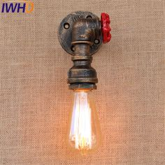 Led Lamps Energetic Water Pipe Vintage Industrial Table Lamp For Bedroom In America Country Loft Table Lamps,abajur Lamparas Luminairas De Mesa 100% High Quality Materials Led Table Lamps