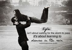 i can't dance, but i dance in the rain anyway... its fun <3