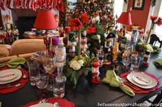 Wonderful Christmas decoration. Nutcrackers look so cool!