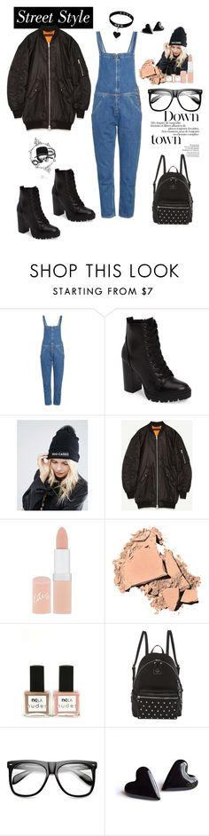 """""""Rock on dude"""" by rastaress-motso ❤ liked on Polyvore featuring M.i.h Jeans, Steve Madden, ASOS, Rimmel, Bobbi Brown Cosmetics, ncLA, GUESS and ZeroUV"""