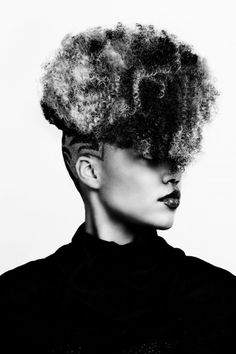 Curls on the top... Buzzed on the sides... Stunning Fashion Photography by Arthur Sysoev
