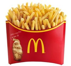 Patatas del McDonald's!!! Mmmmmm.....
