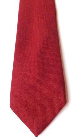 RETRO 100% WOOL NECK TIE Claret Red Mid Weight Weave by AUSTIN REED FREE P&P #AustinReed #NeckTie