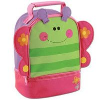 Children's Personalised Lunch bag - Butterfly design